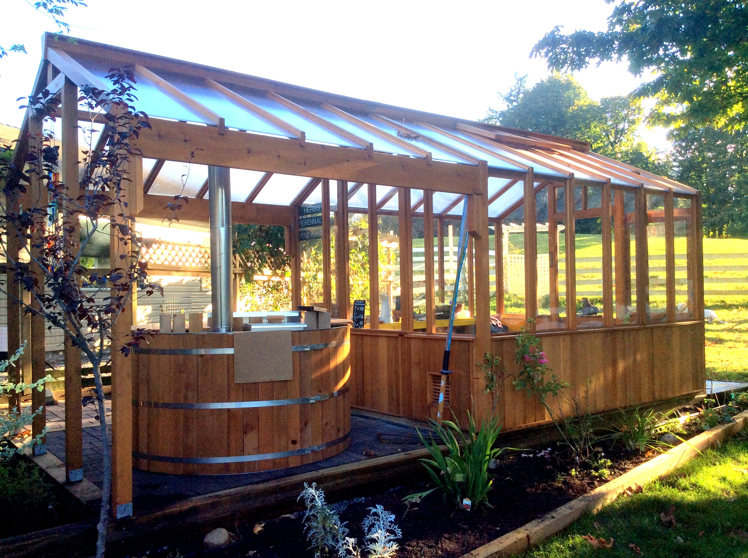 Spa enclosures for Wooden greenhouse plans designs