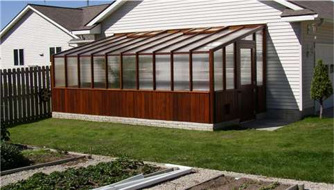 Cedar lean to greenhouse plans for Octagonal greenhouse plans