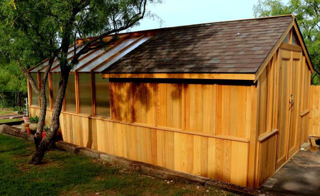 Garden Sheds And Greenhouse Combinations