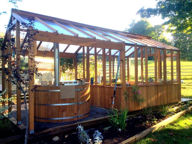 Sharty Shed Greenhouse Combination Plans