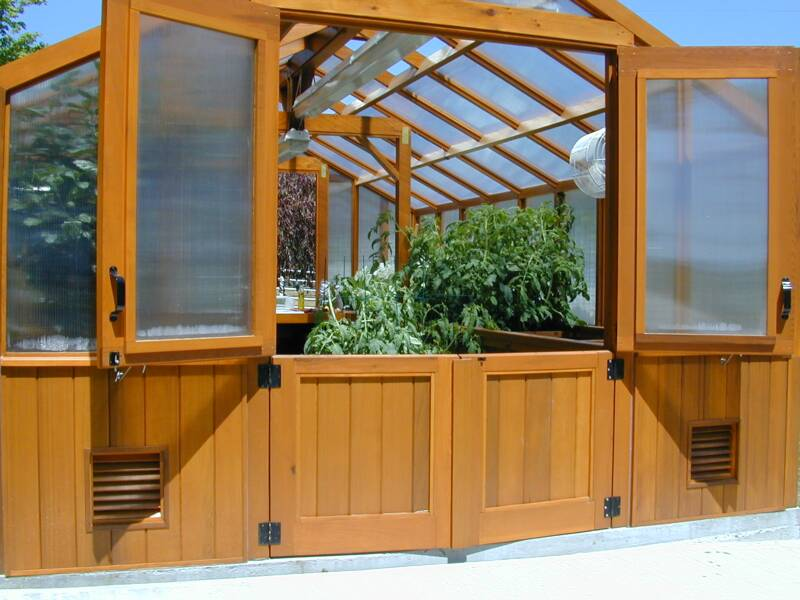 Greenhouse doors riverstone industries monticello hinged for Better homes and gardens greenhouse